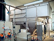 HUBER Dissolved Air Flotation Plant HDF